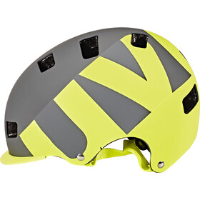 UVEX Helmet 5 Bike Pro gray-lime mat
